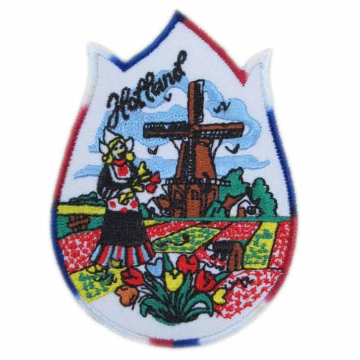 geweven badge Nederland