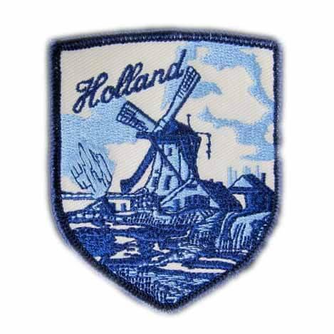 geborduurde badges Nederland