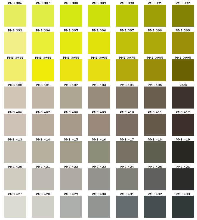 kleurboek PMS