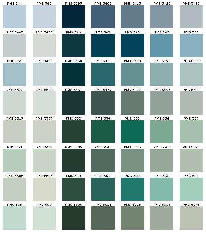 PMS kleurwaarde